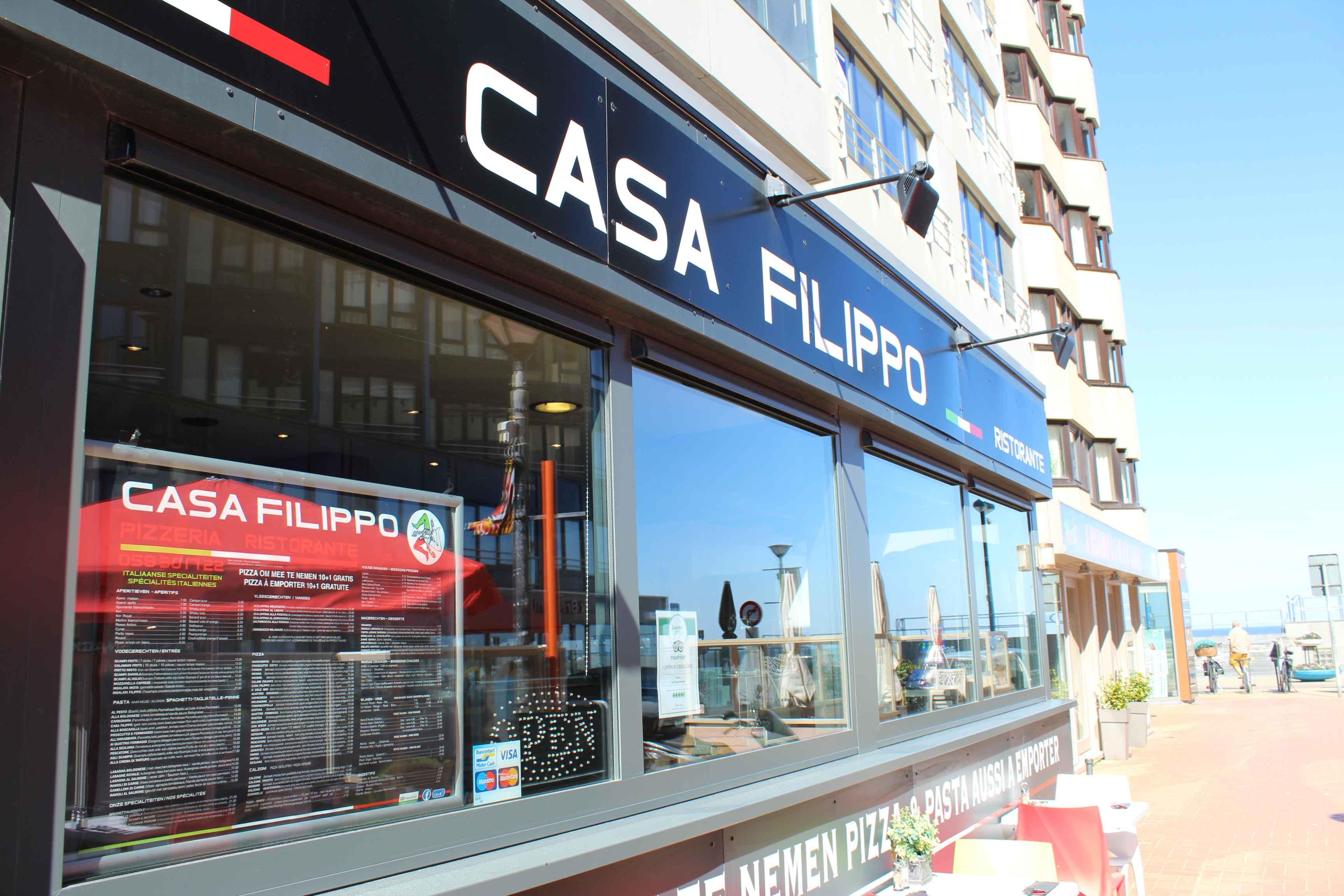 Ristorante Pizzeria Casa Filippo Westende - Middelkerke - Meeuwenlaan