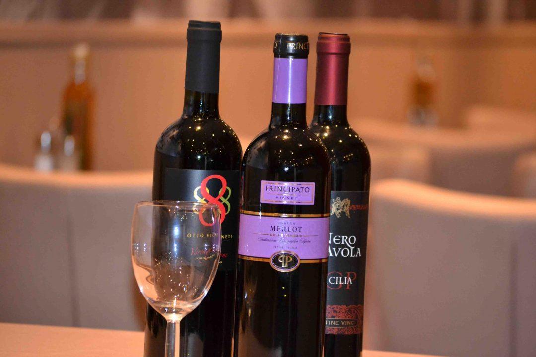 Casa Filippo Pizzeria Ristorante - Westende Italiaanse wijn wijnen