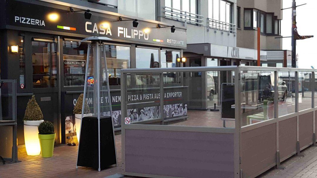 Casa Filippo Pizzeria Ristorante - Westende Bad Belgische Kust Avondeten